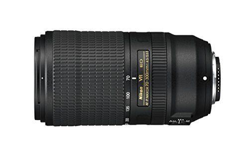 Nikon AF-P 70–300mm f/4.5–5.6E ED VR Teleobjetivo para
