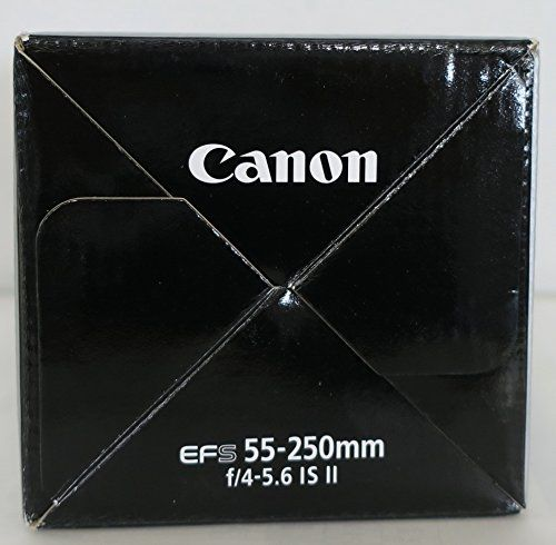Canon EF-S 4-5.6/55-250 IS II - Objetivo para Canon (distancia focal