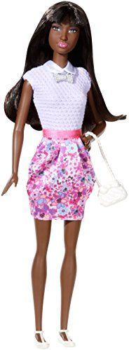 Barbie Fashionistas Party Glam Doll 5: African American