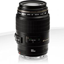 Canon EF 100MM F/2.8 Macro USM – Objetivo para Canon (distancia focal Objetivos para Cámaras