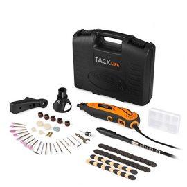Tacklife Mini amoladora eléctrica Advanced Professional Kit de