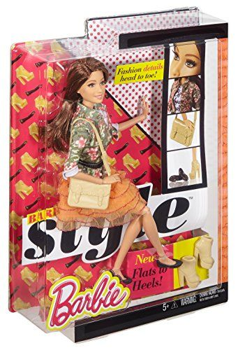 Mattel Barbie - Muñeca fashion, moda de lujo (DHD86)