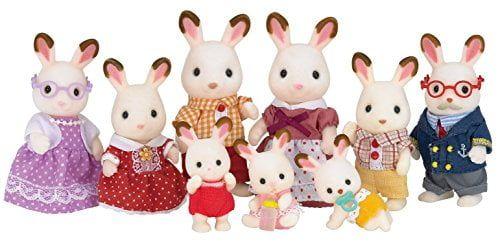 Sylvanian Families – Familia Conejos Chocolate (Epoch para Imaginar