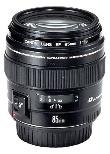 Canon EF 85MM F/1.8 USM – Objetivo para Canon (distancia focal fija Objetivos para Cámaras