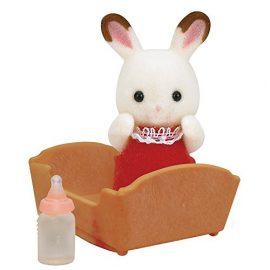 Sylvanian Families – Bebé conejo chocolate (Epoch 3410)