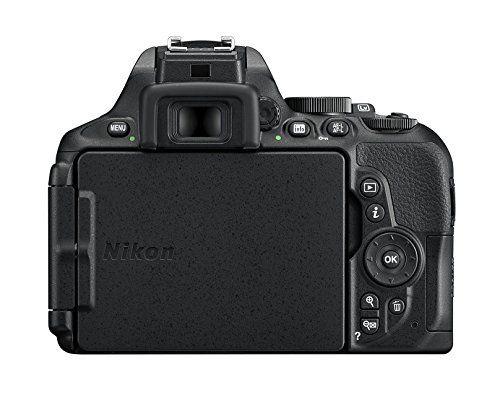Nikon D5600 – Cámara réflex de 24.2 MP pantalla táctil de 3″, Full HD
