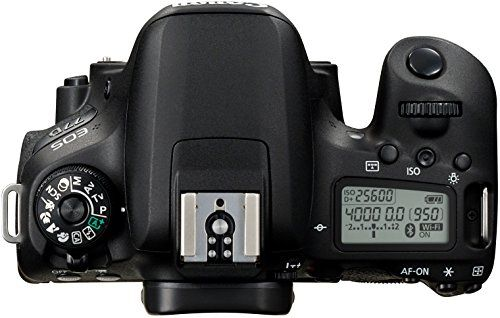 Canon EOS 77D - Cámara réflex de 24.2 MP (vídeo Full HD, WiFi,