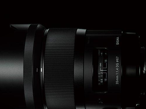 Sigma 35 mm / F 1,4 DG HSM - Objetivo para Canon (distancia focal fija
