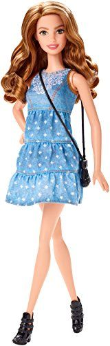 Barbie Fashionistas Blond in Blue Dress