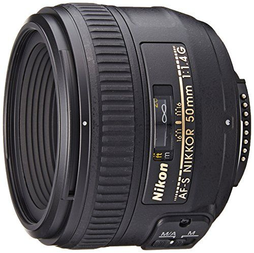 Nikon AF-S 50mm F1.4 G – Objetivo para Nikon (distancia focal fija Objetivos para Cámaras