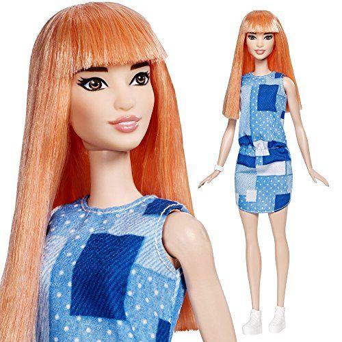 Barbie - Fashionistas 60 - Original - Muñeca en un Look de Mezclilla