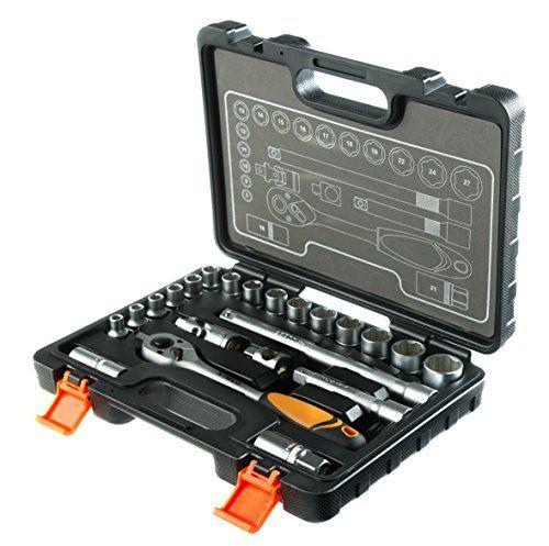 STACO 63022 – Juego de herramientas (llaves de vaso y carraca, 1/2 Bricolaje y herramientas