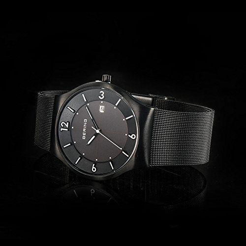 Bering Time  0 - Reloj de cuarzo para hombre, con correa de acero