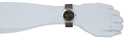 Bering Classic - Reloj analógico de caballero de cuarzo con correa de