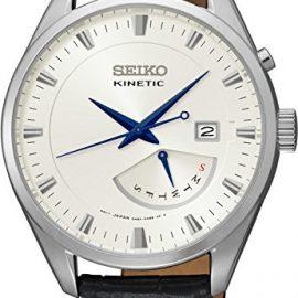 Seiko Reloj Analógico para Hombre con Correa de Cuero – SRN071P1