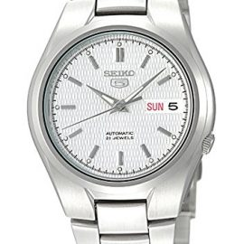 Seiko SNK601K - Reloj analógico automático para hombre con correa de