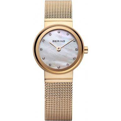Bering Time  Classic – Reloj de cuarzo para mujer, con correa de acero