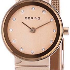 Bering  Classic - Reloj de cuarzo para mujer, con correa de acero