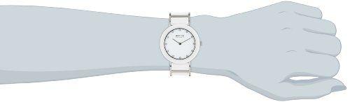 Bering Ceramic - Reloj analógico de mujer de cuarzo con correa de