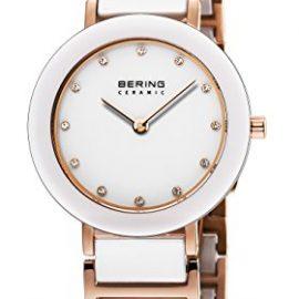 Bering Time  – Reloj de cuarzo para mujer, correa de diversos