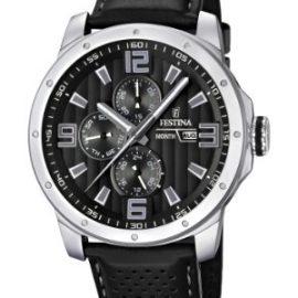 Festina F16585/4 - Reloj analógico de cuarzo para hombre con correa