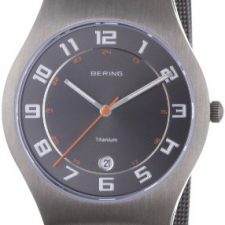 Bering Classic – Reloj analógico de caballero de cuarzo con correa de Relojes Bering