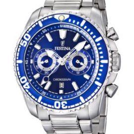 Festina F16564/3 - Reloj cronógrafo de cuarzo para hombre con correa