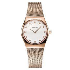 Bering Time  0 – Reloj de cuarzo para mujer, con correa de acero