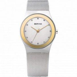 Bering Time  Classic - Reloj de cuarzo para mujer, con correa de acero