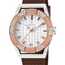 Festina Dream Time - Reloj analógico de mujer de cuarzo con correa de