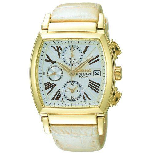 Seiko 70135 – Reloj de Caballero movimiento de cuarzo con correa de