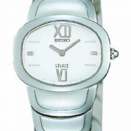 Seiko 70017 - Reloj de Señora movimiento de cuarzo con brazalete
