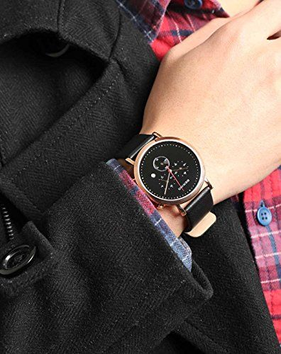 Bering Classic - Reloj cronógrafo de caballero de cuarzo con correa