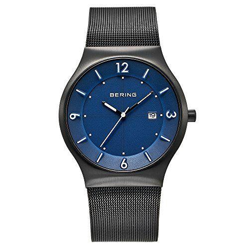 Bering Time  0 – Reloj de cuarzo para hombre, con correa de acero