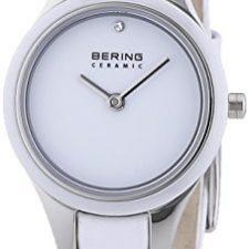 Bering Time  Ceramic – Reloj de cuarzo para mujer, con correa de Relojes Bering