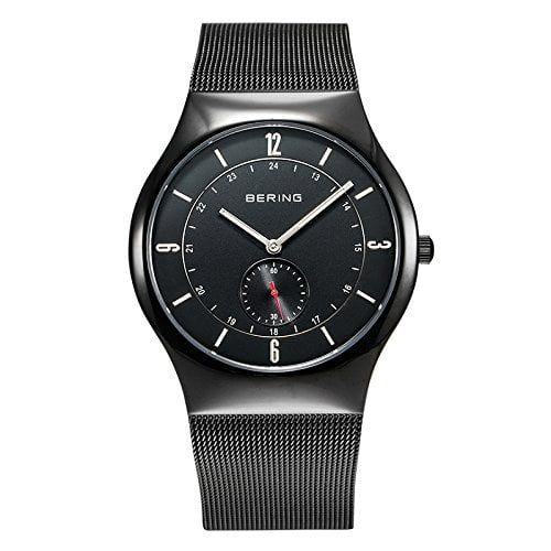 Bering Time  0 – Reloj de cuarzo para hombre, con correa de acero Relojes Bering
