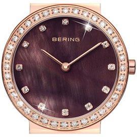 Bering Ceramic – Reloj de cuarzo  color marrón