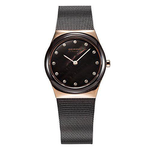 Bering Time–Reloj de pulsera analógico para mujer cuarzo,