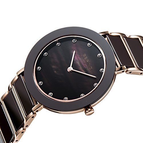 Bering 11435-765 - Reloj de cuarzo , correa de cerámica