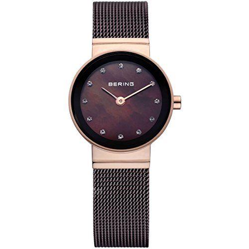 Bering Time  Classic – Reloj de cuarzo para mujer, con correa de acero Relojes Bering