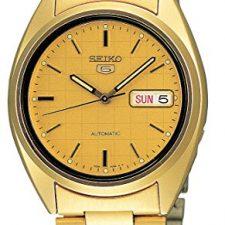 Seiko Reloj Analógico Automático para Hombre con Correa de Acero Relojes Seiko