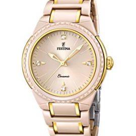 University Sports Press  F16698/3 - Reloj de cuarzo para mujer, con