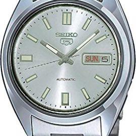 Seiko Reloj Analógico Automático para Hombre con Correa de Acero