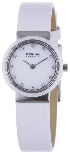 Bering Ceramic 10725-854 - Reloj analógico de cuarzo para mujer,