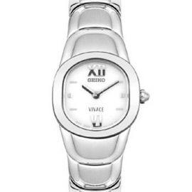 Seiko SUJ543P1 - Reloj analógico de mujer de cuarzo con correa de