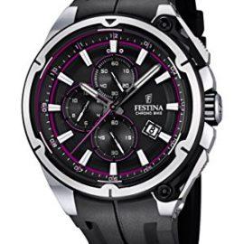 Festina F16882_6 – Reloj Analógico Para Hombre, color Negro