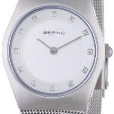 Bering Classic – Reloj analógico de mujer de cuarzo con correa de Relojes Bering