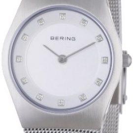 Bering Classic – Reloj analógico de mujer de cuarzo con correa de