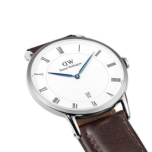 Daniel Wellington 1123DW - Reloj con correa de cuero unisex, color