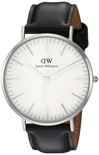 Daniel Wellington Reloj de cuarzo con negro Esfera Analógica de